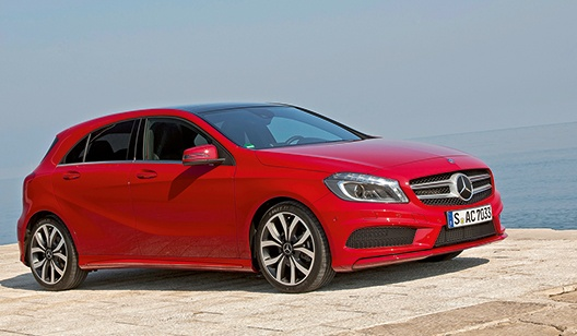 Mercedes-Benz A-Klasse Blue Efficiency gewinnen
